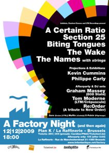 factory 2009 flyer
